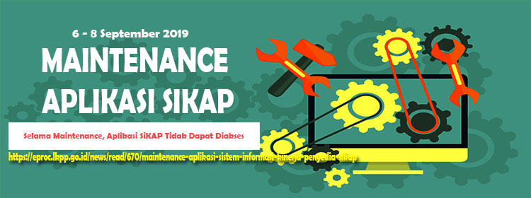 Maintenance SiKAP